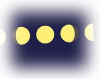 Phases de la Lune (croissante ou décroissante)