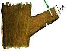comment couper une grosse branche jardinage s. Black Bedroom Furniture Sets. Home Design Ideas