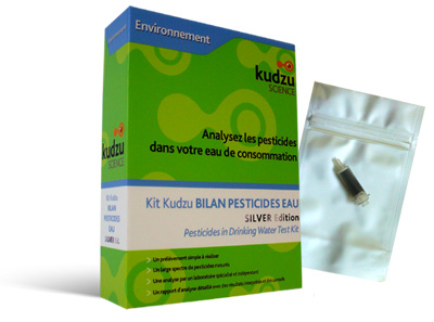 Kit d'analyse des pesticides Kudzu